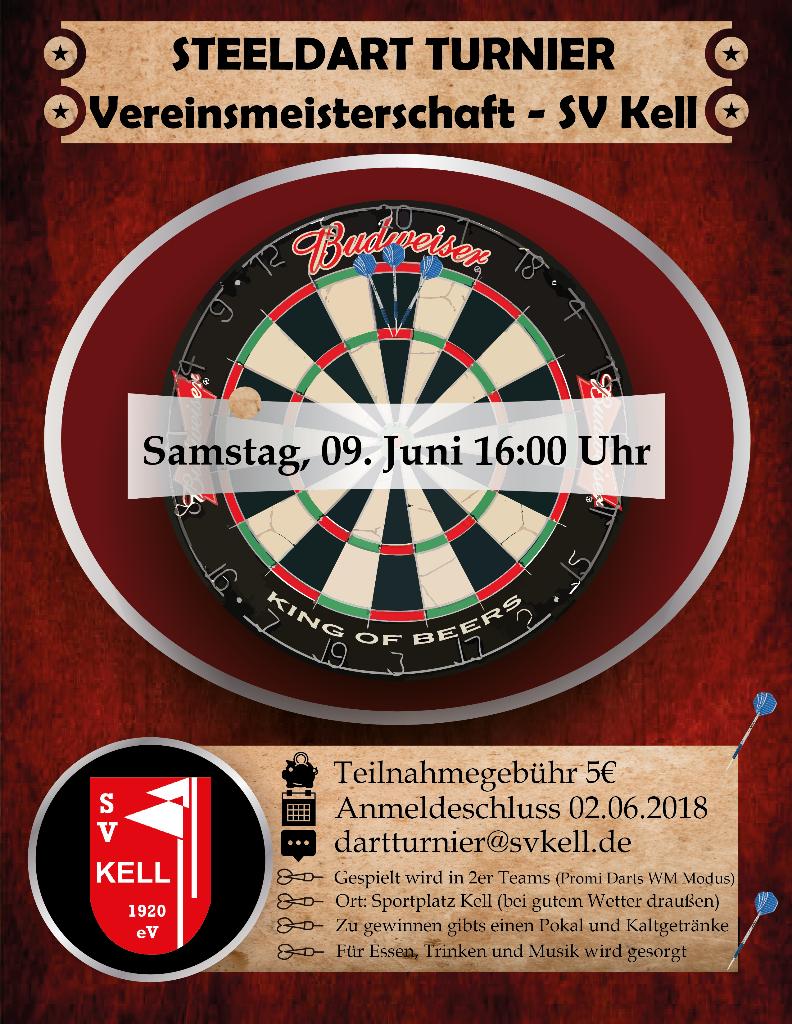 Steeldart - Vereinsmeisterschaft